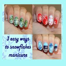 best of simple christmas nail designs for short nails