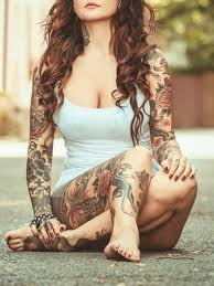 full sleeve tattoo lotus love pinterest tattoo tatting and