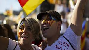 catalans rally for independence from spain the washington post