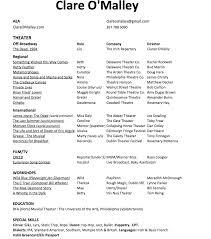 Green Card Resume Resume U2014 Clare O U0027malley