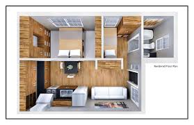 500 square feet floor plan decor 3d small house design and furniture arrangement with 500 sq