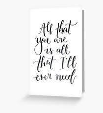 ed sheeran lyrics quotes ed sheeran lyrics greeting cards redbubble