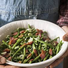 wilted green bean salad recipe eatingwell
