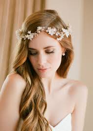 bridal hairstyles effortless chic boho bridal hairstyles for carefree