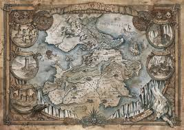 Map Of Westeros World by Artstation Game Of Thrones Map Westeros The North Francesca