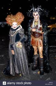 2013 heidi klum halloween party at marquee in new york city stock