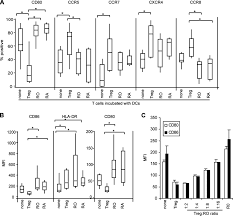 human dendritic cells acquire a semimature phenotype and lymph