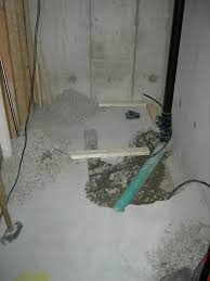 Installing A Basement Toilet by Basement Rough In Ridgid Plumbing Woodworking And Power Tool Forum