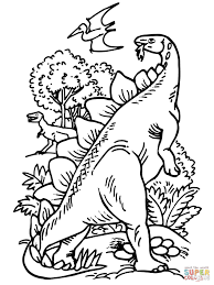 pteranodon coloring pages free coloring pages