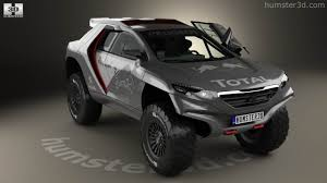 peugeot bipper interior 360 view of peugeot 2008 dkr with hq interior 2014 3d model