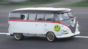 volkswagen minibus 2016 530hp porsche 993 bi turbo powered volkswagen t1