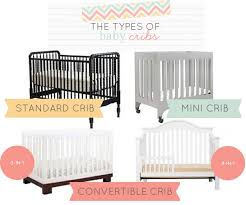 Mini Crib Vs Regular Crib The Many Types Of Baby Cribs For Your Baby Nursery With Mdb
