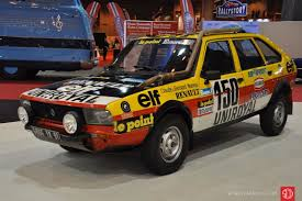 renault rally 2016 renault 20 turbo 4x4 paris dakar rally 150 1982