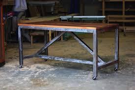 Industrial Work Table by Dining Tables Vintage Industrial Furniture Phoenix Industrial