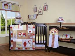 Firefighter Crib Bedding Geenny Boutique Truck 13 Crib Bedding Set Reviews
