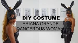 sound of music halloween costumes diy costume ariana grande dangerous woman bunny mask youtube