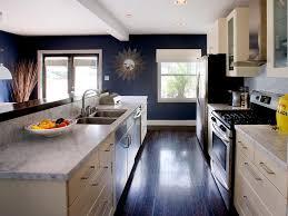 Navy Blue Kitchen Decor by Galley Kitchen Ideas Steps To Plan To Set Up Galley Kitchen