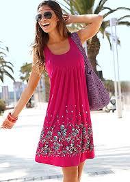 sun dress pink berry petal print sun dress by beachtime swimwear365