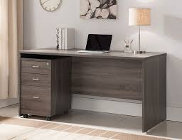 Grey Office Desk Rustic Grey Home Office Desk