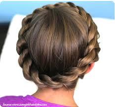 crown twist braided updo draw people head hair ref pinterest