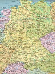 Cold War Germany Map Former East Germany And West Germany