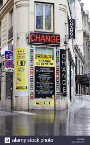 bureau de change a bureau de change exchange currency on the streets of in