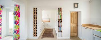 Kitchen Bookcases Decorating Ideas For Built In Bookcases Kitchen Contemporary With