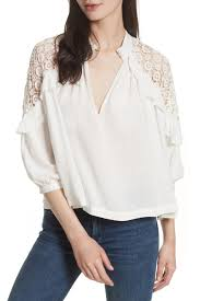 shoulder blouse free sleeve knit shoulder blouse nordstrom rack
