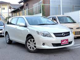 toyota co ltd 2010 toyota corolla fielder x hid limited used car for sale at