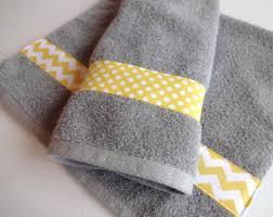 Gray Yellow Bathroom - yellow and grey bath towels yellow and grey yellow and gray