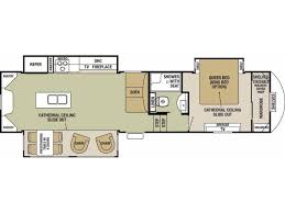100 forest river fifth wheel floor plans 100 cedar creek