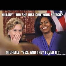 Stealing Memes - funny memes of melanie trump stealing mitchell obama s speech