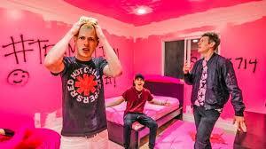 turning room pink revenge prank youtube