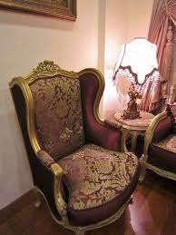 Ebay Furniture Sofa Maroon Gold Sofa Damask Louis Xv French Antique Dfs Rococo Baroque