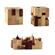 new gifts new york cube crafted wood one of a gift gifts