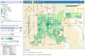 colorado population map neighborhood level population density maps for colorado cities