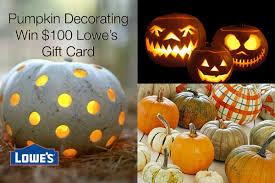 Lowe s Pumpkin Decorating Contest