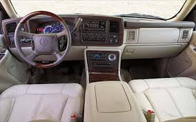 cadillac escalade ext interior 2002 suv comparisons review road test truck trend
