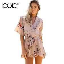 hippie jumpsuit kuk 3 color playsuit boho clothing hippie chic jumpsuit