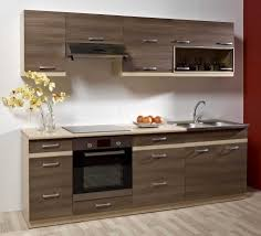 Kitchen Cabinet Wood Choices Contemporary White And Bits Of Wood Kitchen Cabinet And White