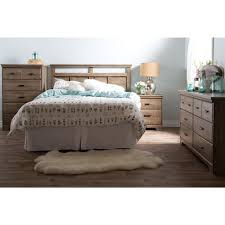 south shore versa 2 drawer weathered oak nightstand 9066060 the