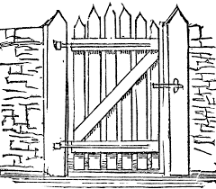 mansion clipart black and white gate images clip art 33