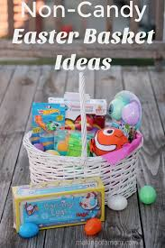 candy basket ideas non candy easter basket ideas of a
