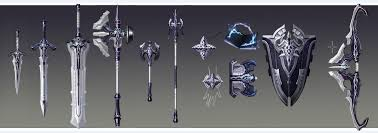 aion weapons appreciate the original painting