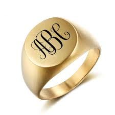 online get cheap mens custom engraved rings aliexpress retro style steel ring for men personalized name stainless rings custom gold color engrave logo jewelry