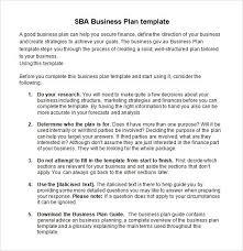sba business plan template madinbelgrade