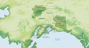 Denali National Park Map Alaska U0027s National Parks July 2018 Zegrahm Expeditions