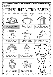 compound words worksheets and activities activities elementary