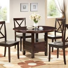 small round wood kitchen table round dining table set 5pc dining room furniture small space wood
