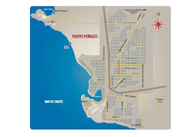Mexico Resorts Map by Map U0026 Directions To Rocky Point Puerto Penasco Mexico Kyle Wood